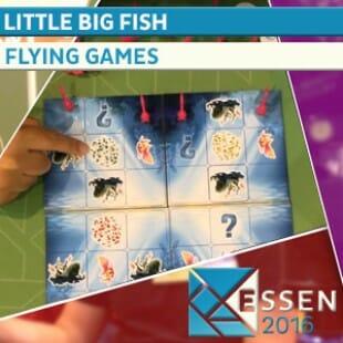 ESSEN 2016 – JEU LITTLE BIG FISH – THE FLYING GAMES – VF