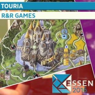 ESSEN 2016 – JEU TOURIA – R&R Games – VOSTF