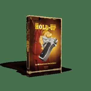 Hold Up- BD dont vous etes le Hero Materiel-Jeu de societe-ludovox