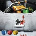 chainsaw carte adrenaline jeu de societe