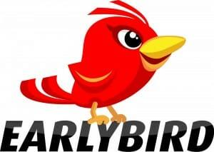 red-earlybird-text