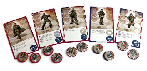 5 commandos
