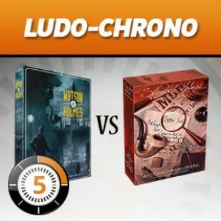 LUDOCHRONO – Comparatif Sherlock Holmes Detective Conseil VS Watson & Holmes