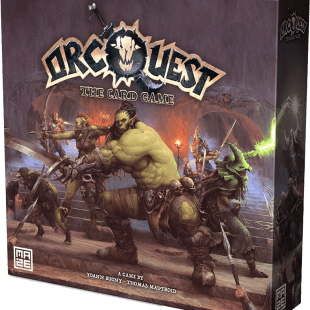 Orcquest the card game