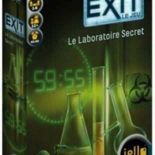 EXIT le jeu, le laboratoire secret