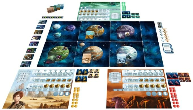 Empires of the Void II materiel de jeu