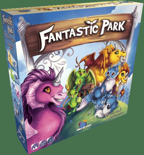ludovox Fantastic Park jeu blue orange jeu de societe