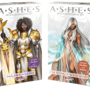 Les cendres sont chaudes chez Plaid Hat Games : extensions deluxes d'Ashes