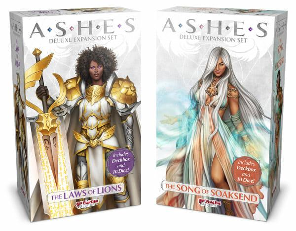Ashes-rise-of-the-phoenixborn-heritiers-phenix-law-of-lions-song-soaksend-ludovox-jeu-de-societe