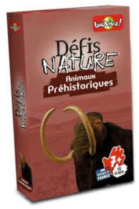 DÉFIS NATURE ANIMAUX PRÉHISTORIQUES-Bioviva-Couv-Jeu de societe-ludovox