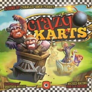 Crazy Karts = Mario Kart the boardgame ?