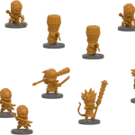 Ninja all stars clan Yamazaru-EGDEMateriel-Jeu-de-societe-ludovox