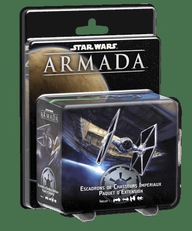 Star wars armada Escadrons de Chasseurs Impériaux-Edge-Couv-Jeu de societe-ludovox