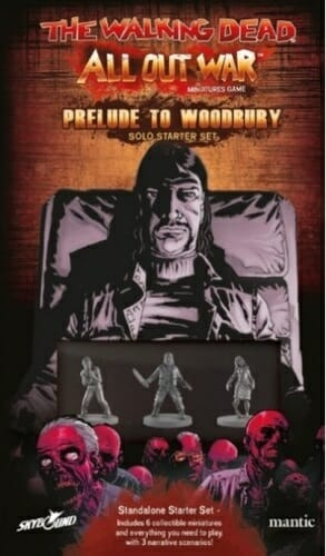 The Walking Dead All Out War Prelude to Woodbury Solo Starter Set