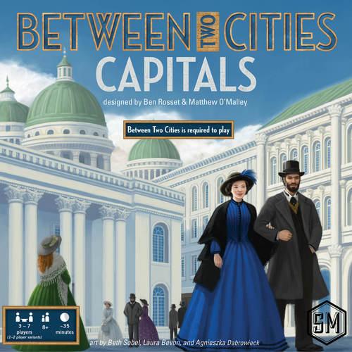 Between Two Cities Capitals boite de jeu