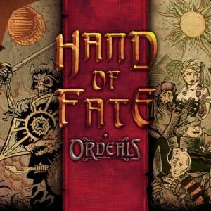 Hand of Fate Ordeals rule & make couverture jeu de societe ludovox