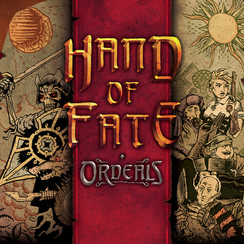 Hand of Fate Ordeals rule & make couverture jeu de societe ludovox