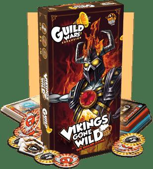 Viking gones wild-Guild WArs-Lucky Duck Games-Couv-Jeu-de-societe-ludovox