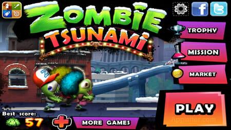 Zombie-Tsunami-application