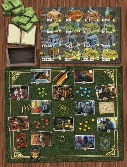 MAFIOZOO-Board jeu de société ludovox