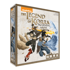 The Legend of Korra Pro-bending Arena jeu de societe ludovox