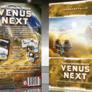 Terraforming Mars : la prochaine étape s'appelle Venus Next
