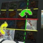 Réponse au pliage des 2 épées : 3 plis. Qui dit mieux ?