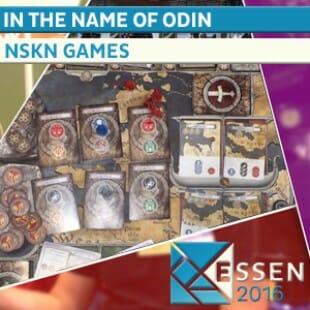 Essen 2016  – Jeu In the name of odin – NSKN Games – VOSTF
