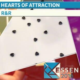 Essen 2016 – Jeu Hearts of attraction – R&R – VOSTFR
