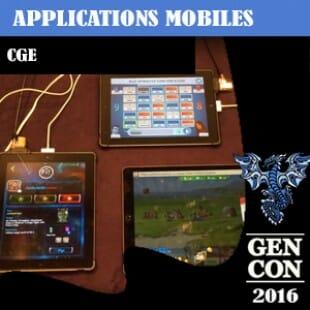 GenCon 2016 – Les Applis CGE [Codenames/TTA/Galaxy Trucker]- VOSTFR