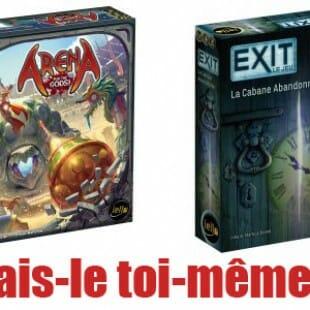 Iello : du neuf pour Arena for the gods et Exit