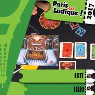 Paris Paris Est Ludique 2017 – Jeu Exit – Iello