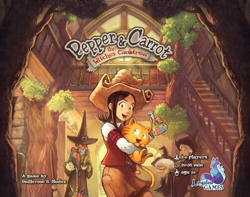 Pepper and Carrot The Potion Contest
