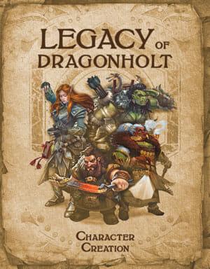 Legacy of Dragonholt creation de personnage