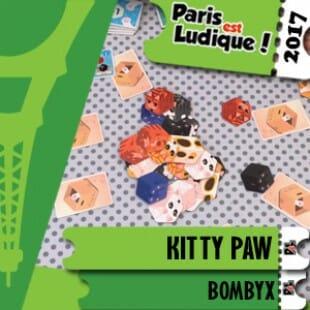 Paris Est Ludique 2017 – Jeu Kitty Paw