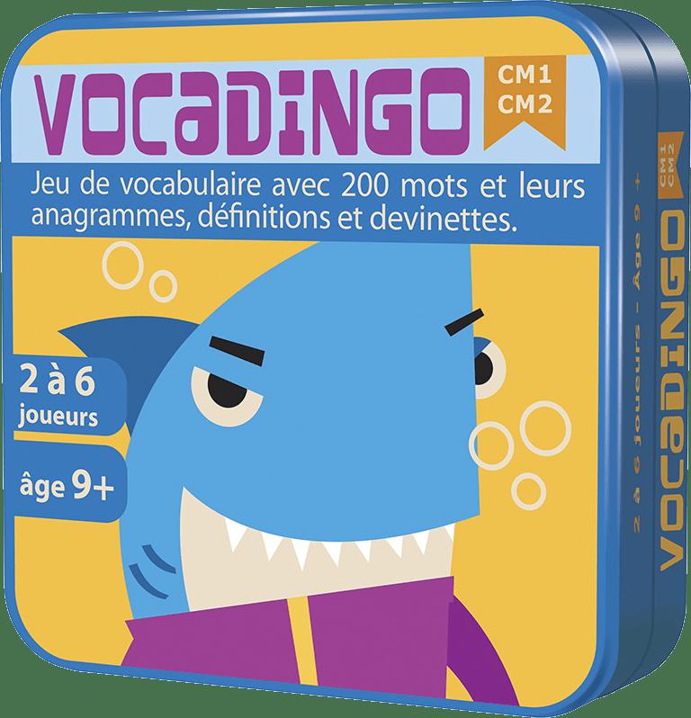 Vocadingo CM1-Cm2-Couv-Jeu-de-societe-ludovox