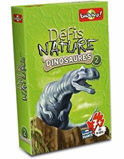 Defis Nature dinosaures 2-Bioviva-Couv-Jeu de societe-ludovox