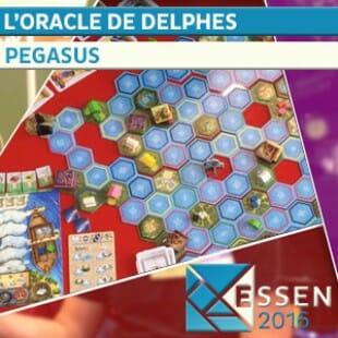 Essen 2016 – L'Oracle de delphes – Pegasus Spiel