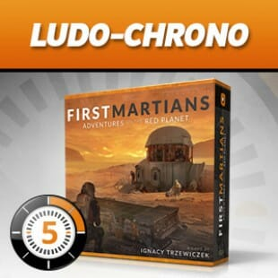 LUDOCHRONO – First Martians: Adventures on the Red Planet