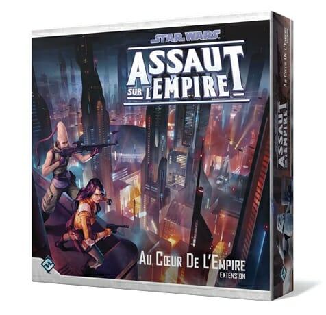 Star Wars Assaut Sur L'empire-Extension Au Coeur De l'Empire-Couv-Jeu-de-societe-ludovox