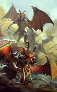 time-of-legends-joan-of-arc-flying-demons