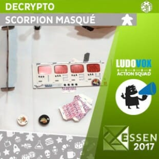 Essen 2017 – Decrypto – Scorpion Masqué