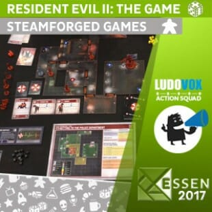 Essen 2017 – Resident Evil II: the Game – Steamforged Games – VOSTFR