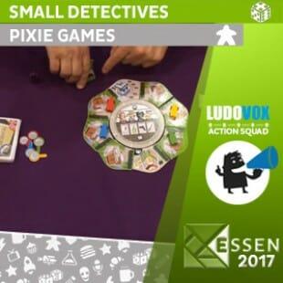 Essen 2017 – Small detectives – Pixie Games