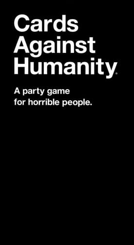 cards against humanity cover