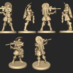 Planet Apocalypse modeles figurines