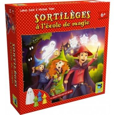 Sortilèges à l'Ecole de Magie jeu ludovox