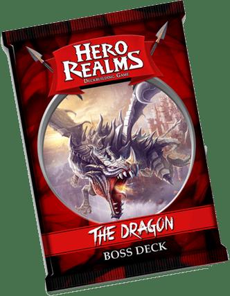 Hero Realms Boss Deck – The Dragon -Couv-Jeu de societe-ludovox