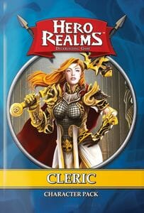 Hero Realms Deckbuilding Game - Cleric Pack Expansion-Couv-Jeu-de-societe-ludovox