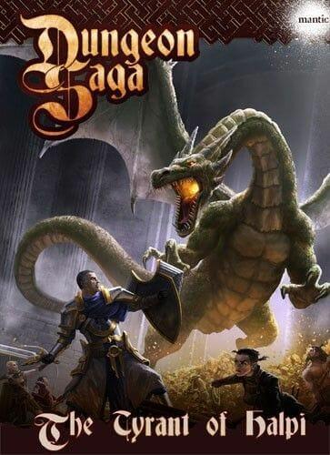 Dungeon Saga - Le Tyran de Halpi-Couv-Jeu-de-societe-ludovox